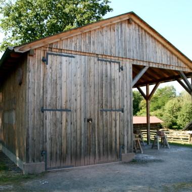 Stone mason's hut