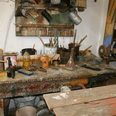 Malerwerkstatt im Haus aus Treisbach