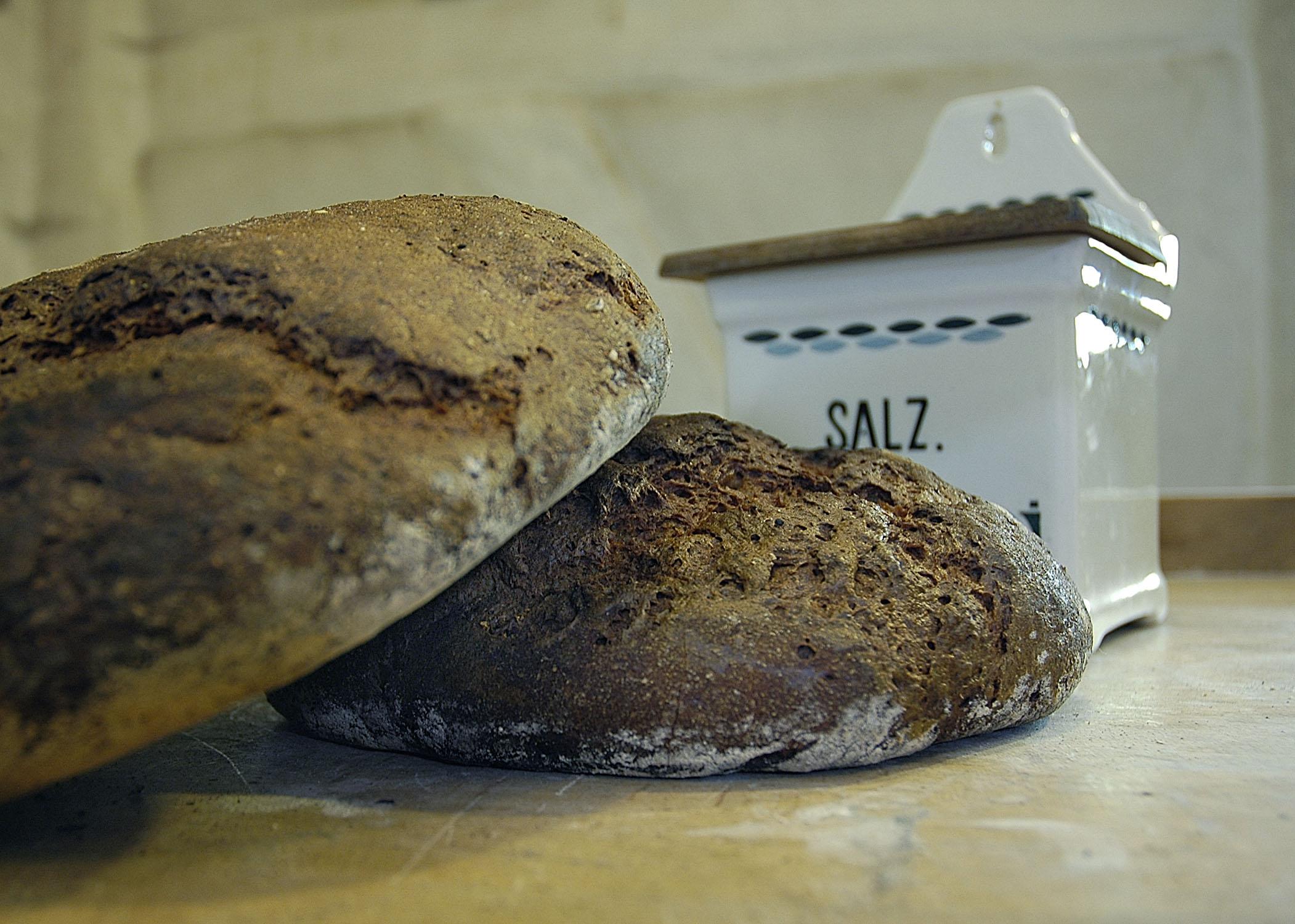 Brot und Salz im Backhaus