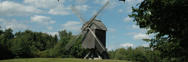 Bockwindmühle von der Papenhorst