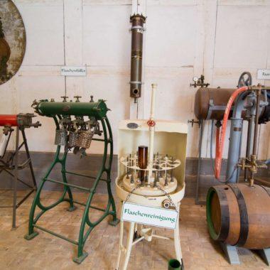 Blick in die Brauereiausstellung in der Martinsklause