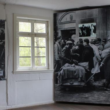 """Dauerausstellung """"Flucht und Vertreibung"""" im Haus aus Sterzhausen"""