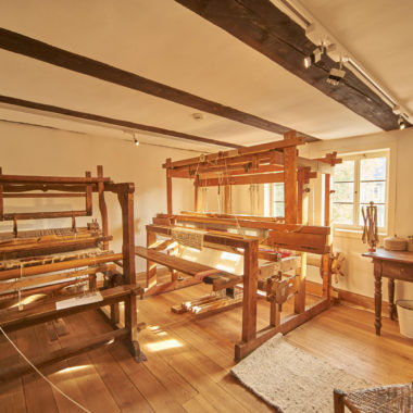 Dauerausstellung im Textilhandwerkshaus