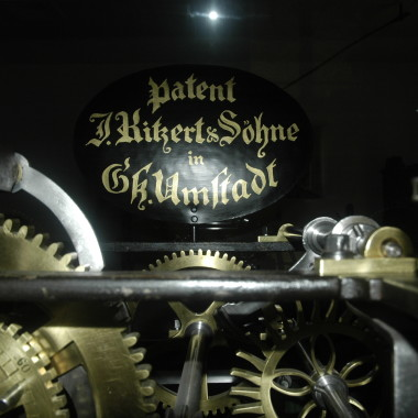 Uhrwerk einer Turmuhr