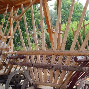 Treshing barn