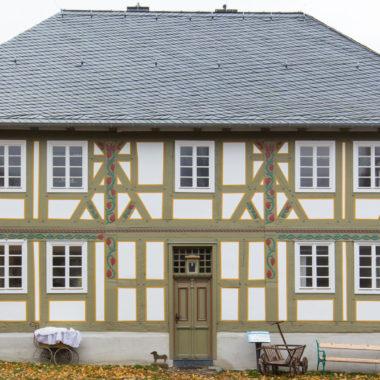 Außenansicht Rathaus aus Ewersbach