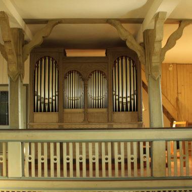 Orgel in der Kirche aus Ederbringhausen