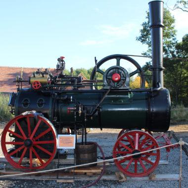 Die Flöther Dampflokomobile nach der Instandsetzung