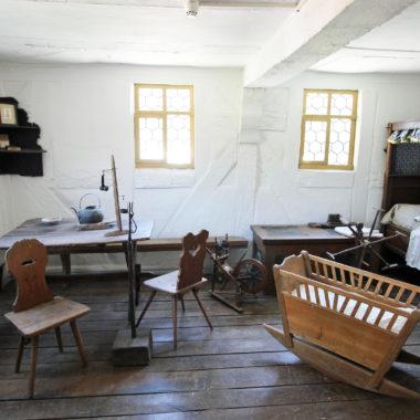 Innenaufnahme Stube Haus aus Frankenbach