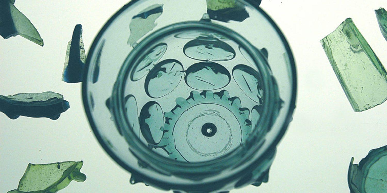 Exponat aus der Glasausstellung
