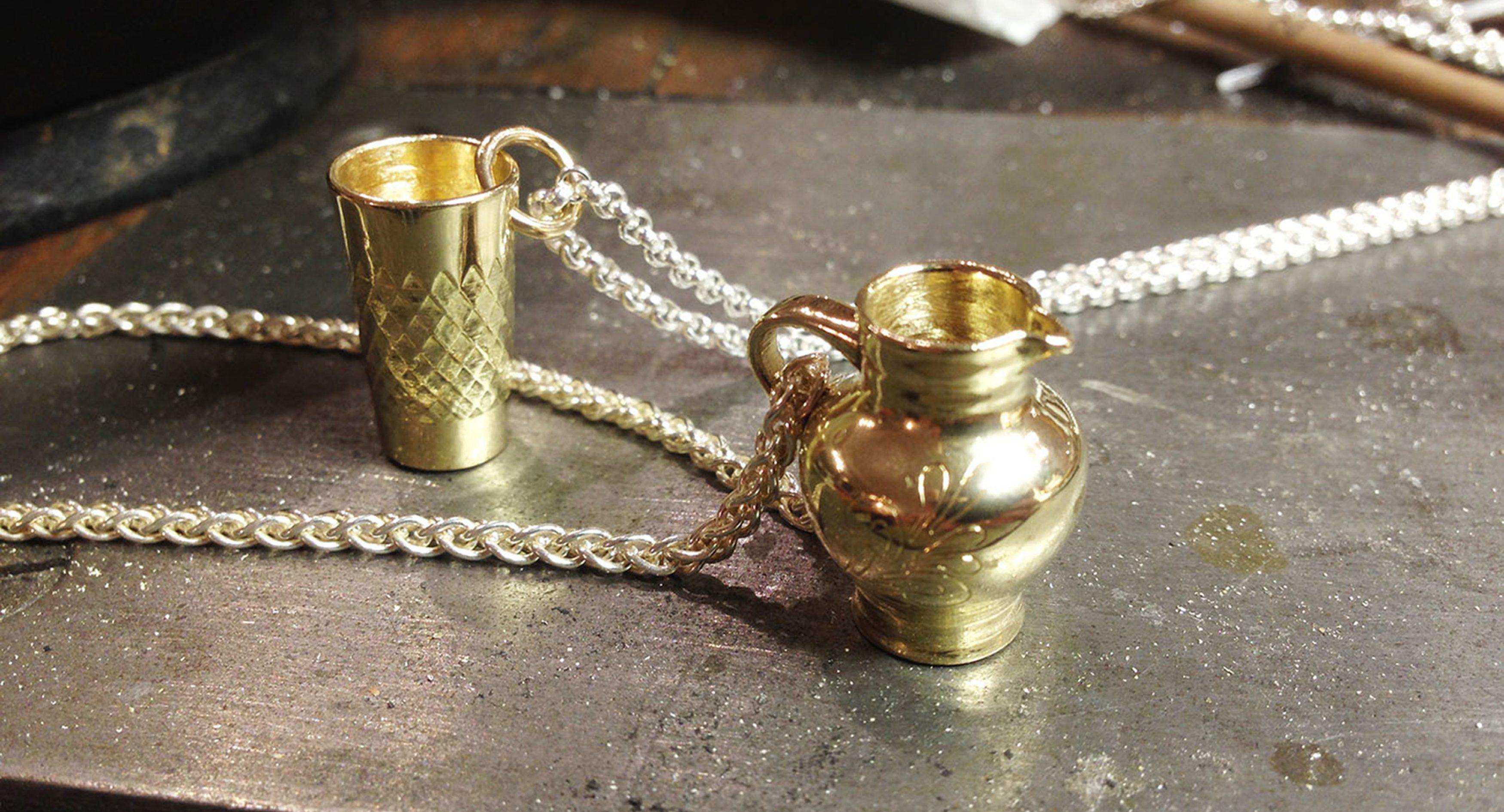 Schmuck aus der Goldschmiede
