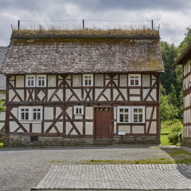 Heck House from Friedensdorf