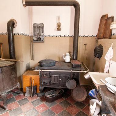 Küche im Haus aus Fellingshausen