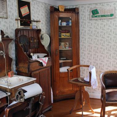 historischer Friseursalon Spielmann