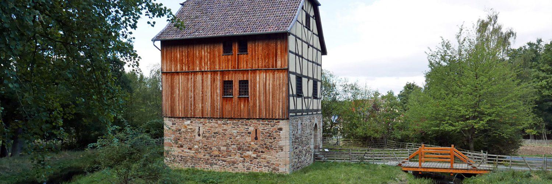 Seitenansicht des Hauses aus Ransbach