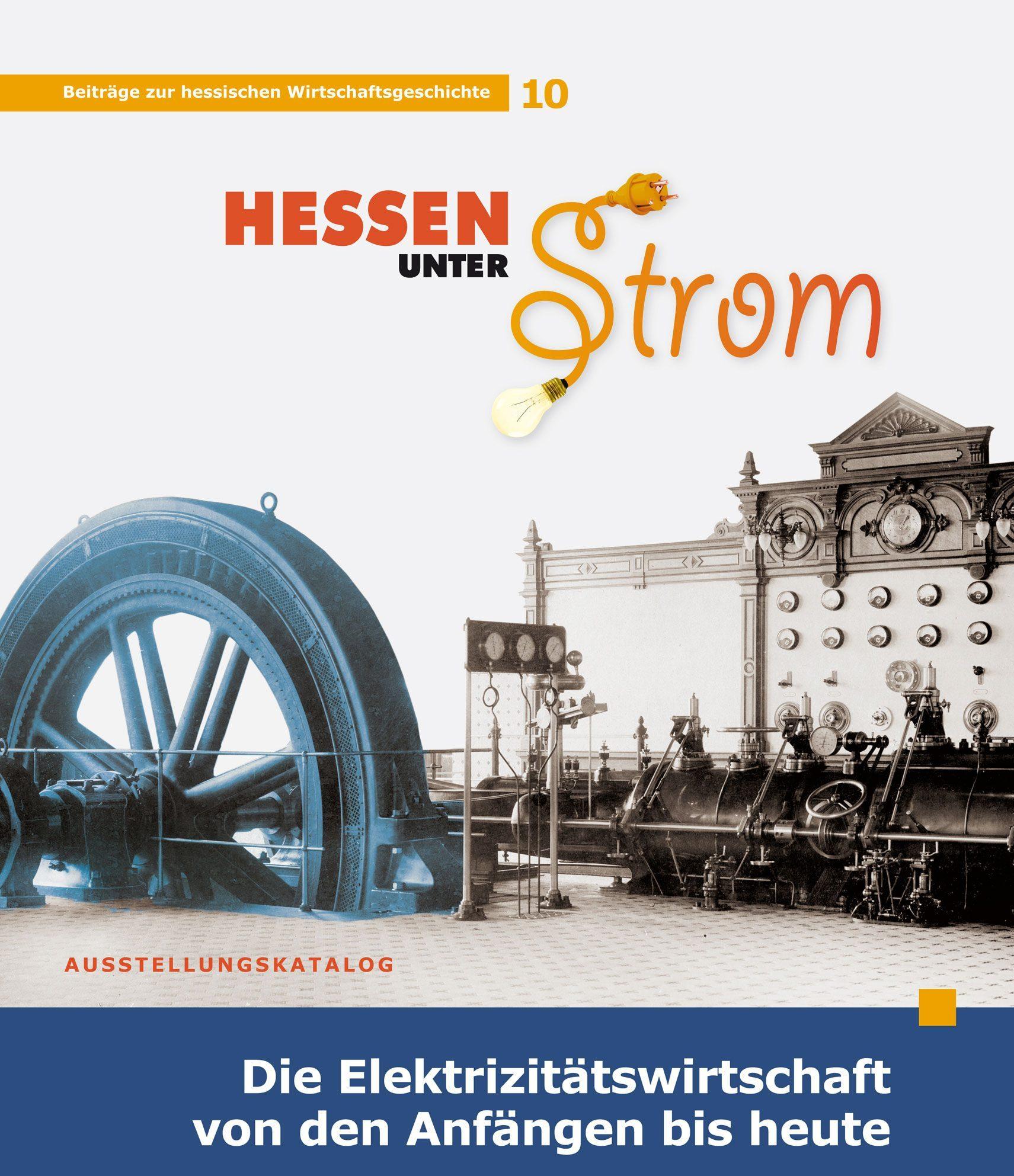 """Buchtitelabbildung """"Hessen unter Strom"""""""
