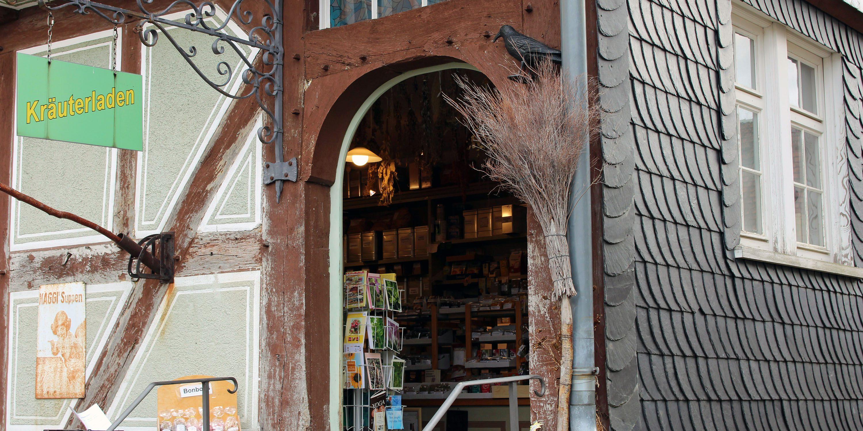 Außenansicht Kräuterladen