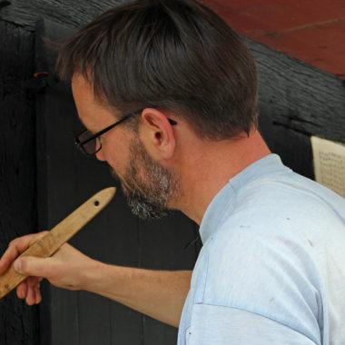 Sanierungsarbeiten am Stall aus Frohnhausen