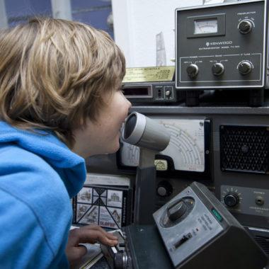 Kinder beim Funken am KidsDay