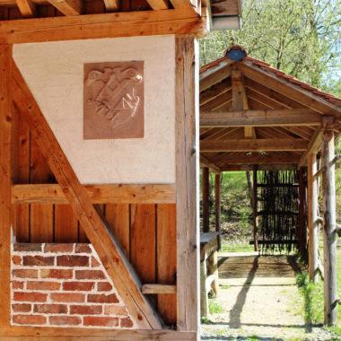 Mason's hut