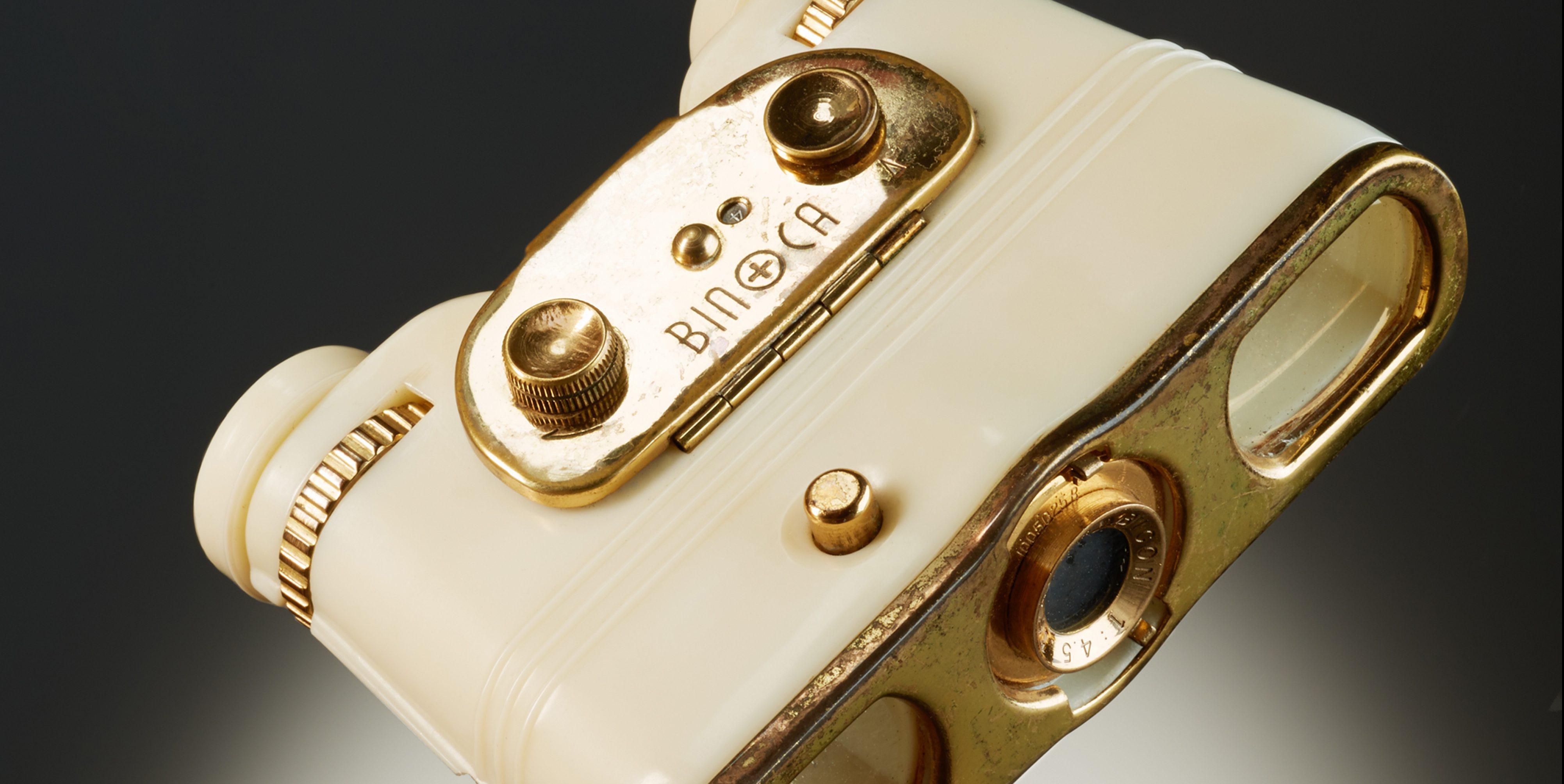 Fernglaskamera Binoca von 1950