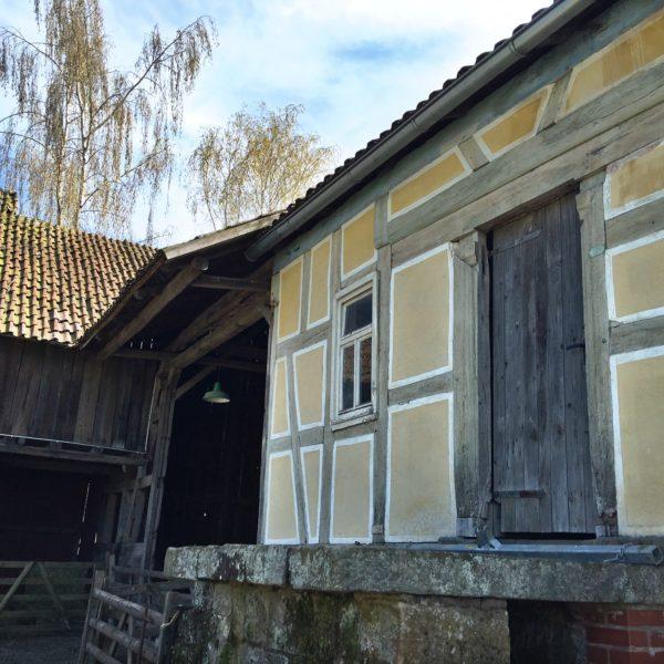 Nahaufnahme Hofanlage aus Mittelkalbach