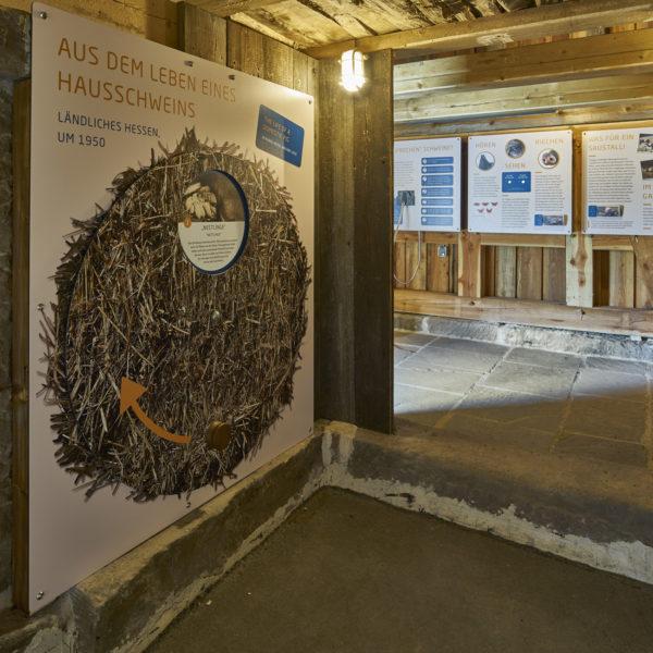 Blick in die Dauerausstellung