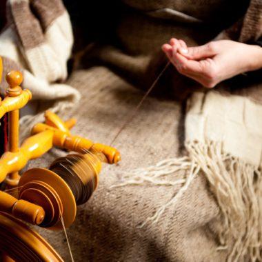 Wollverarbeitung