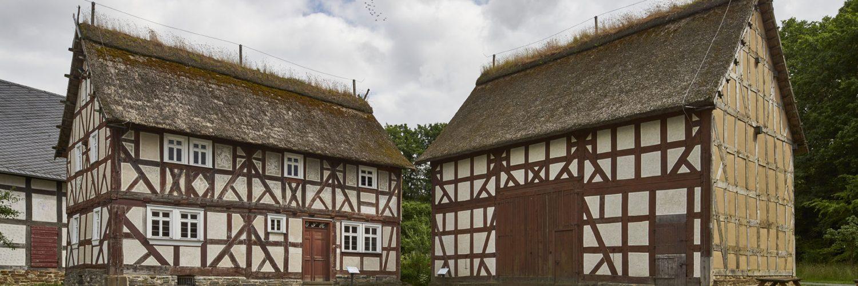 Haus Heck aus Friedensdorf und Stallscheune aus Niederweidbach