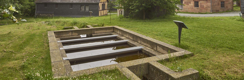 Waschplatz in der Baugruppe Mittelhessen