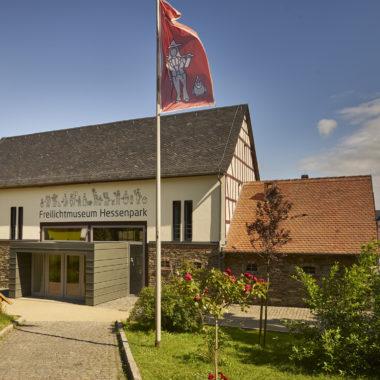 Eingangsgebäude des Hessenparks