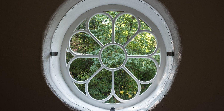 Fenster in der Synagoge aus Groß-Umstadt